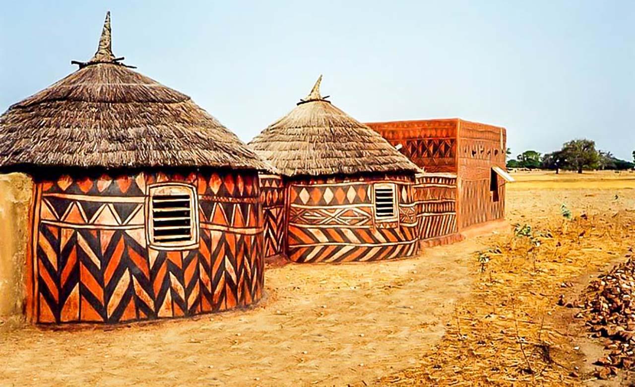Habitats traditionnels de Tiébélé