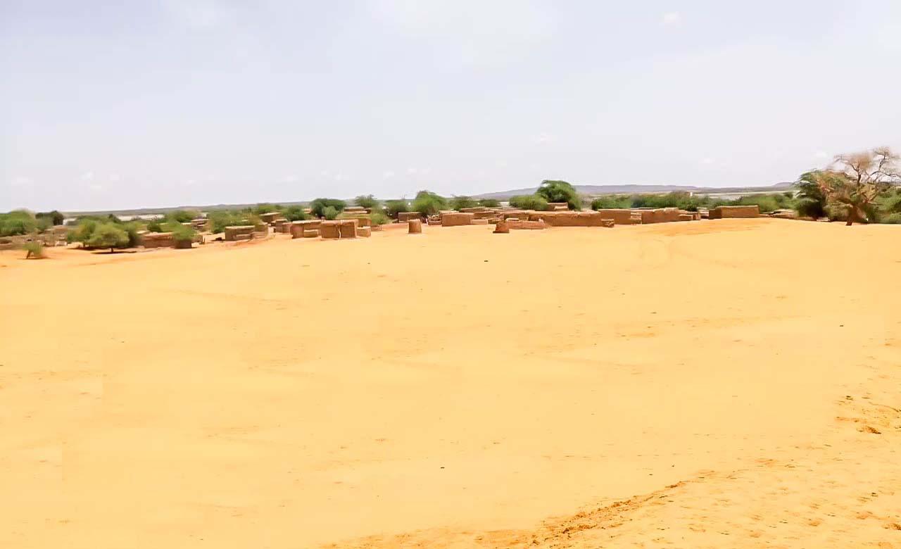 Dunes de sable d'Oursi