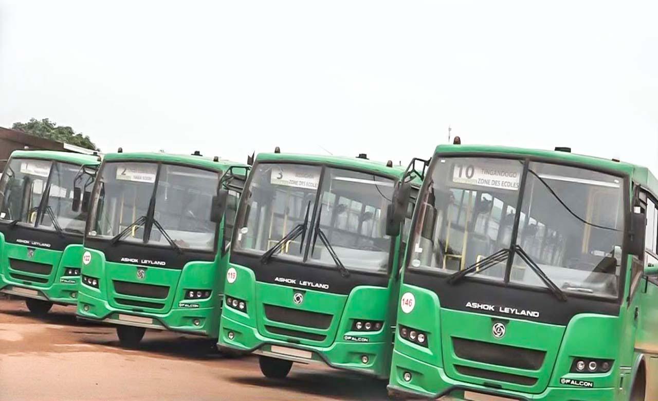 Le Bus au Burkina Faso