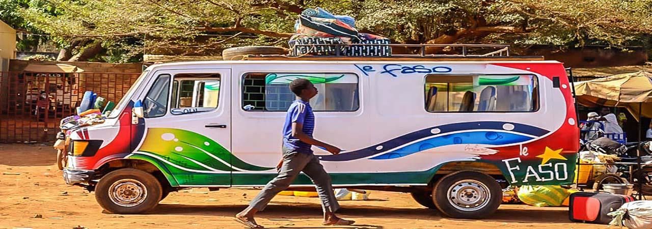 Le taxi brousse au Burkina Faso
