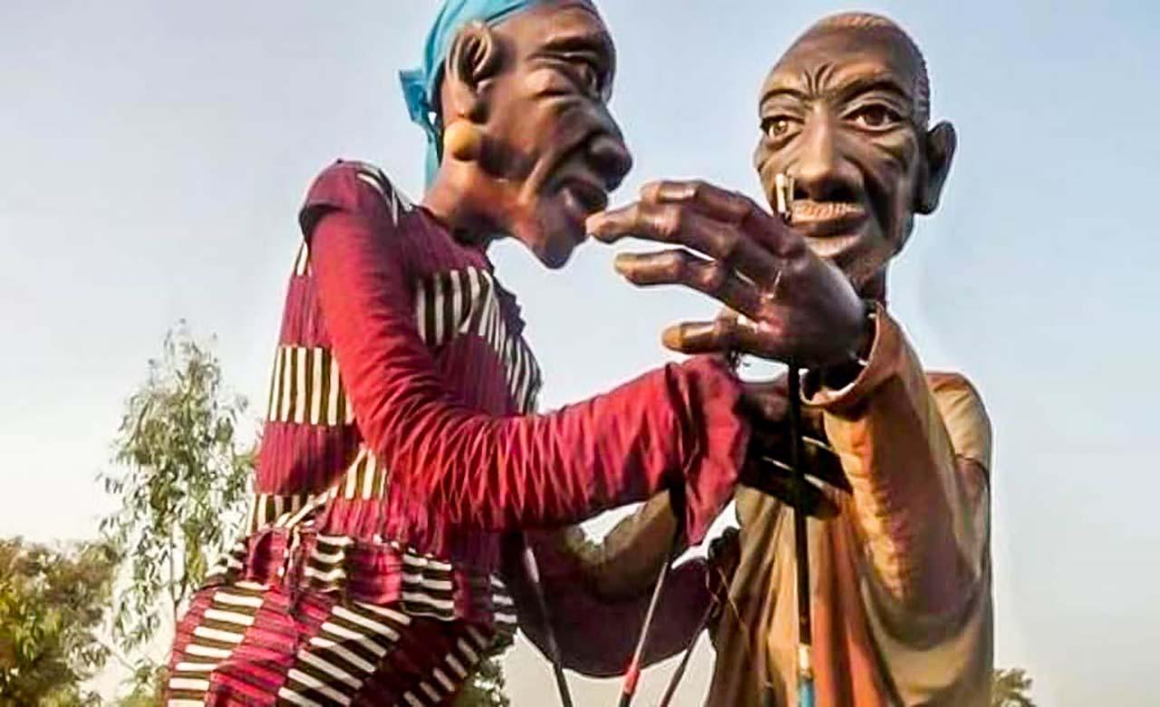 Les grandes personnes d'Afrique