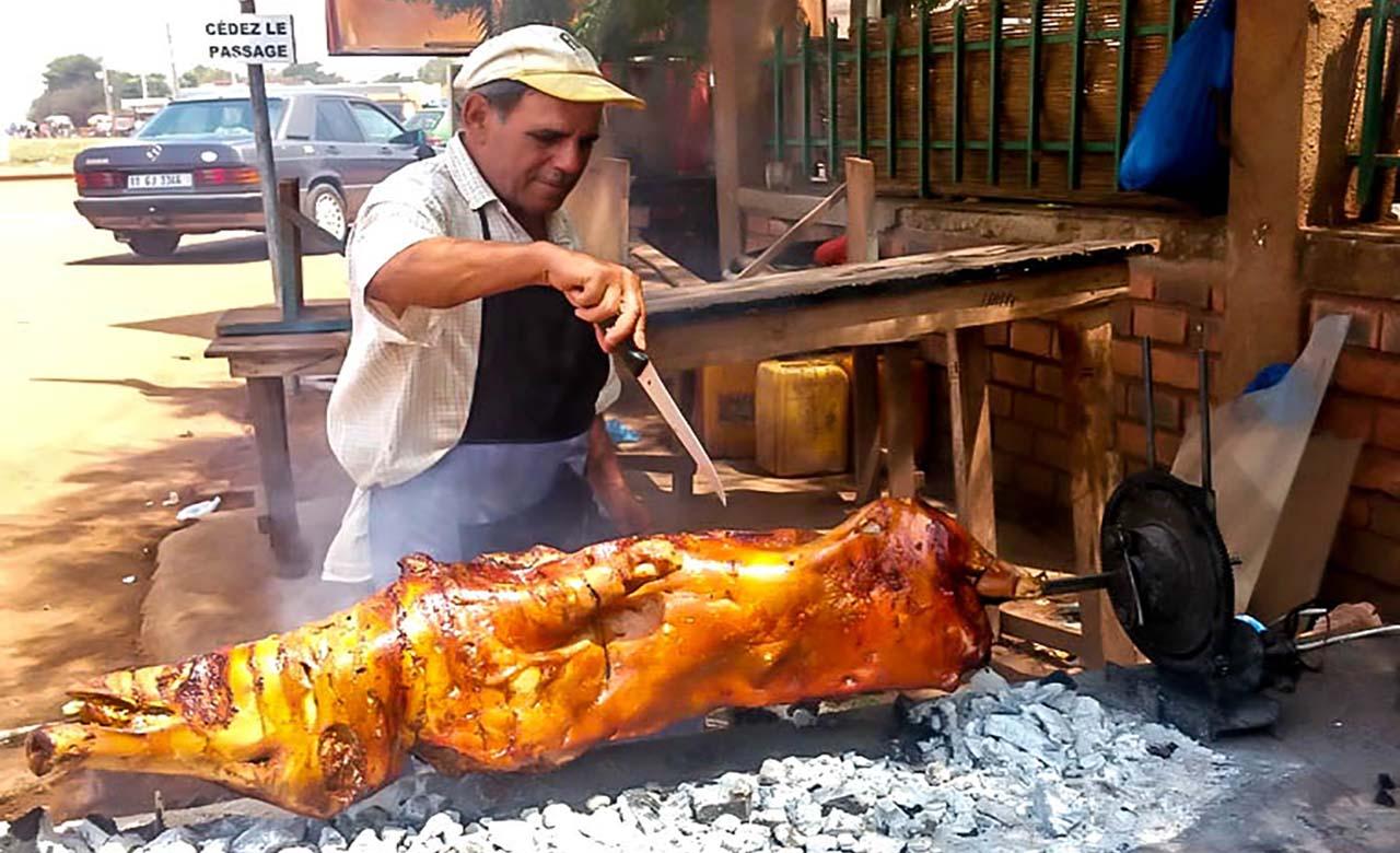Porc au four