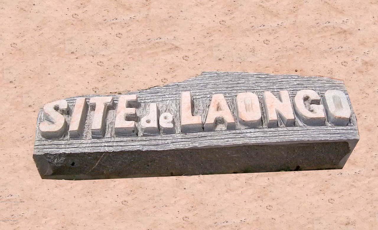 Sculpture de granite de Loango